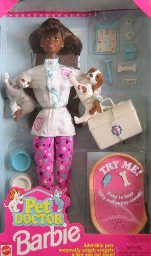 Pet Doctor Barbie AA Doll w Accesorios (1996)