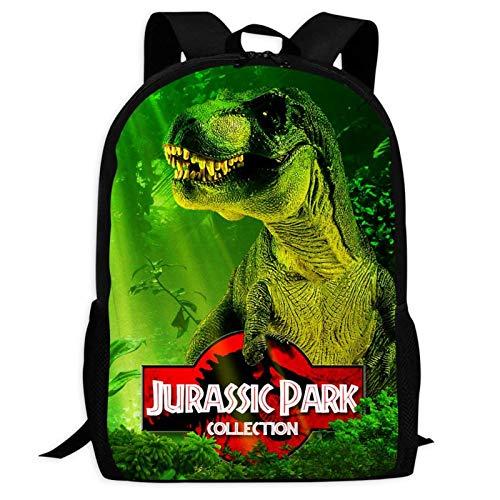 WeiTao Jurassic World - Mochila escolar para niños y adolescentes