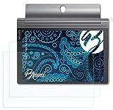 Bruni Schutzfolie kompatibel mit Lenovo Yoga Tab 3 Plus Folie, glasklare Bildschirmschutzfolie (2X)