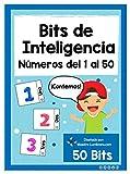 Bits de Inteligencias: Números del 1 al 50: A partir desde los 0 a 6 años.