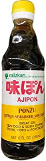 Japanese Mizkan Mitsukan Ajipon Ponzu yuzupon Citrus Seasoned Soy sauce dipping sushi salad dressing marinade ???12floz