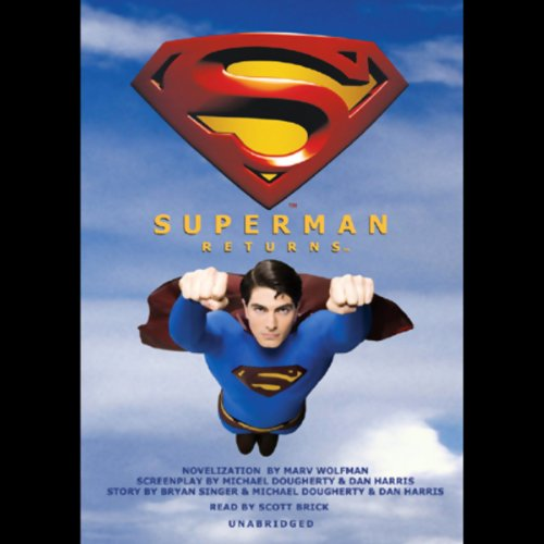 Superman Returns audiobook cover art