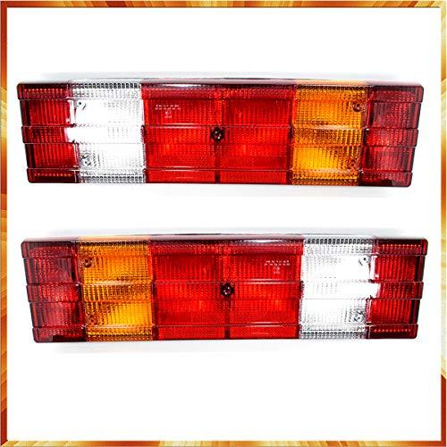 2 x luci posteriori 12 V 24 V camion rimorchio per M.B. Vario Atego