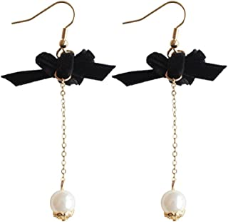 Best fabric bow earrings Reviews