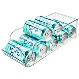Dispensador latas nevera transparente y sencillo