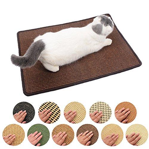 Sue Supply Sisal Katze Matte, PET Scratch Play Pad | Pet Tweed Kork | Möbel Natural insipidity (Rondom Farbe delievery)