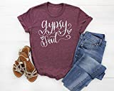 Gypsy Soul Womens Shirt | Womans Traveler Adventurer T Shirt | Available in Misses Unisex and Plus size T-Shirt, Assorted Colors