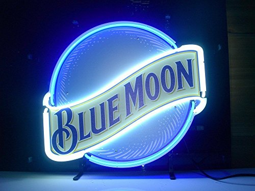 neon beer signs blue moon - 1