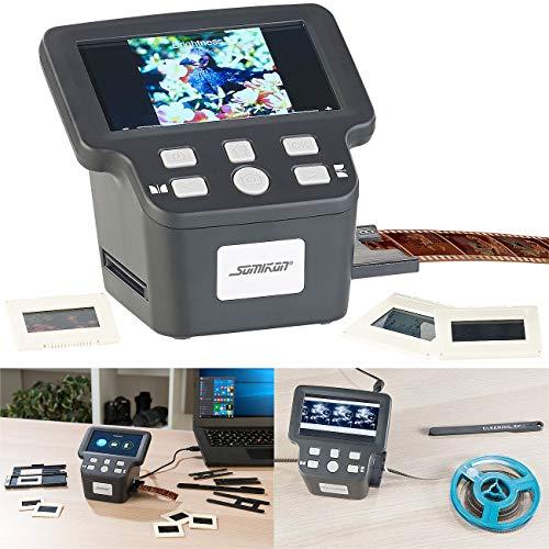 Somikon Negativscanner: Stand-Alone-Dia-, Negativ- & Super-8-Scanner, 12,5-cm-Farbdisplay (5