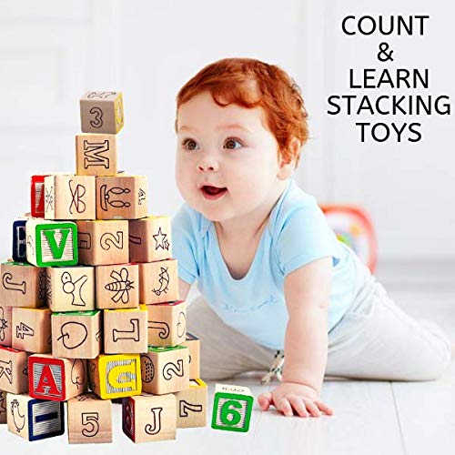 Count and Learn Stacking Toys