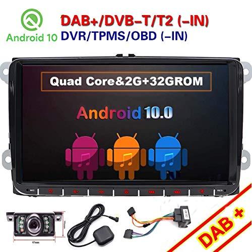 FOIIOE 9 Pulgadas Doble DIN Android 10.0 Compatible