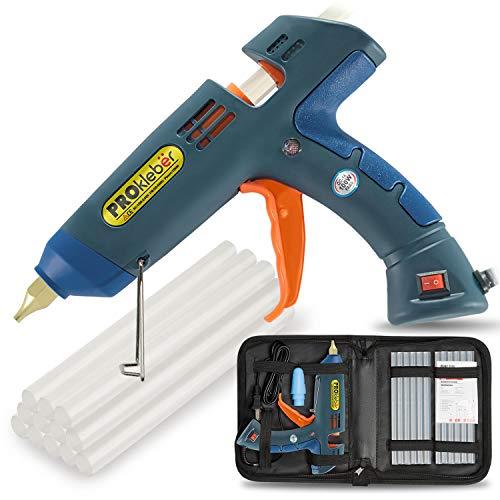 PROkleber Hot Melt Glue Gun Kit Full Size 100 Watt