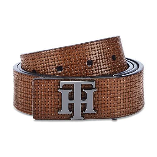 Tommy Hilfiger Men's Leather Belt (TH/JOHANNREV23L Large)