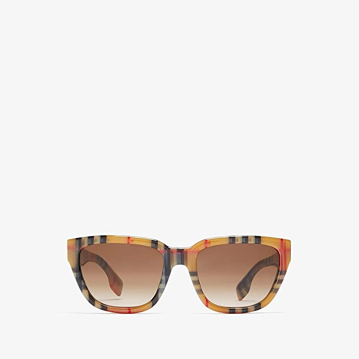 Burberry  0BE4277 (Vintage Check/Gradient Brown) Fashion Sunglasses