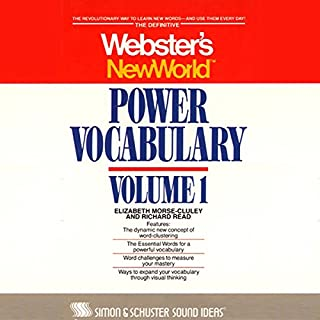 WNW Power Vocabulary audiobook cover art
