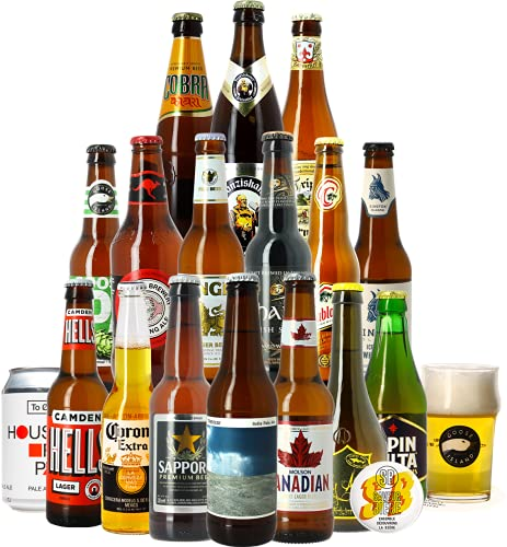 Colección increíbles cervezas - Idea de regalo (Colección cervecero'Sabores del mundo')