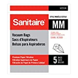 Electrolux Sanitaire 63253A10 Style MM Disposable Dust Bags w/Allergen Filter for 3670G/SC3683A/SC3683B, 5/PK