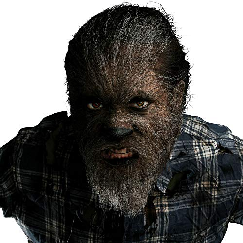 Party City Wolfman Makeup Kit, Includes Makeup, Fake Blood, Remover, Faux Fur, Adhesive, Sponges, Instructions, and More
