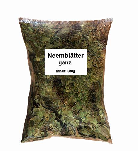 Neemblätter ganz (500 g) kosm. INCI Neem Niem Neembaum Blätter Niemblätter