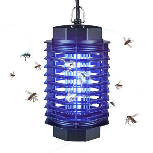 Gardigo Insektenvernichter elektrisch mit UV-Licht I Elektronischer Mückenschutz gegen Mücken, Fliegen, Moskitos I Insektenabwehr für 50 m² I Deutscher Hersteller