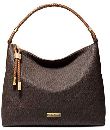 Michael Kors Lexington Large Shoulder Bag - Brown/Luggage