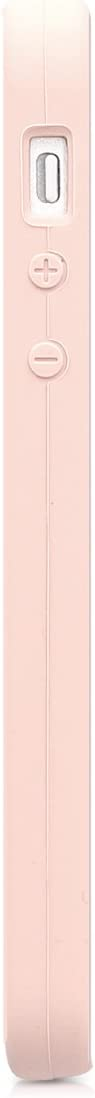 kwmobile TPU Silicone Case Compatible with Apple iPhone SE (1.Gen 2016) / 5 / 5S - Case Slim Phone Cover with Soft Finish - Dusty Pink