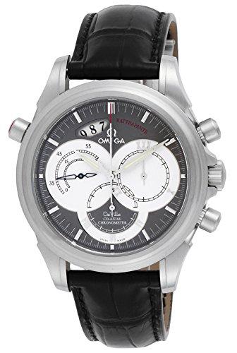 [オメガ] 腕時計 デ・ビルコーアクシャルラトラパンテ 自動巻 クロノグラフ 4848.40.31 並行輸入品 ブラック