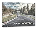 artboxONE Poster 60x40 cm Automobile Motorsport Fahrbahn in