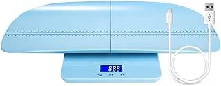 Bostar ベビースケール 新生児体重計 分離式デザイン 高精度 単位切替機能 表示固定 乳幼児用 赤ちゃんから成人まで使える 100kgの最大荷重 ブルー