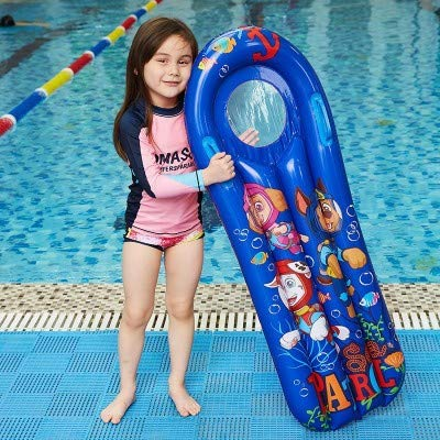 Inflatable Boogie Boards for Kids Swimming Pool Floating Toys, Learn to Swim Water Boards Play
