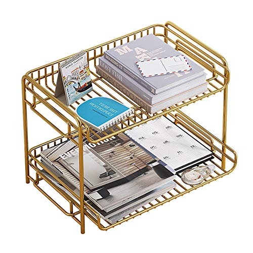 2-Tier Paper Trays Plus Magazinhalter,...