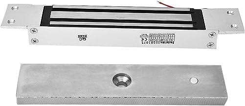 Elektrisch magnetisch slot, 280 kg houdkracht Ingebed elektromagnetisch slot, DC 12V elektrisch slot met enkele deur