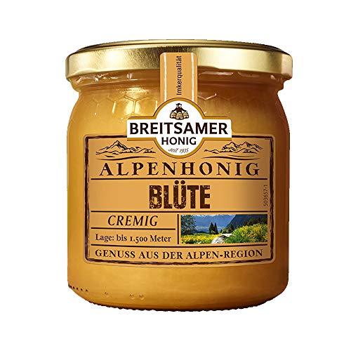 Alpenblüten Honig - Cremige Honigspezialität aus der Alpenregion (500g)