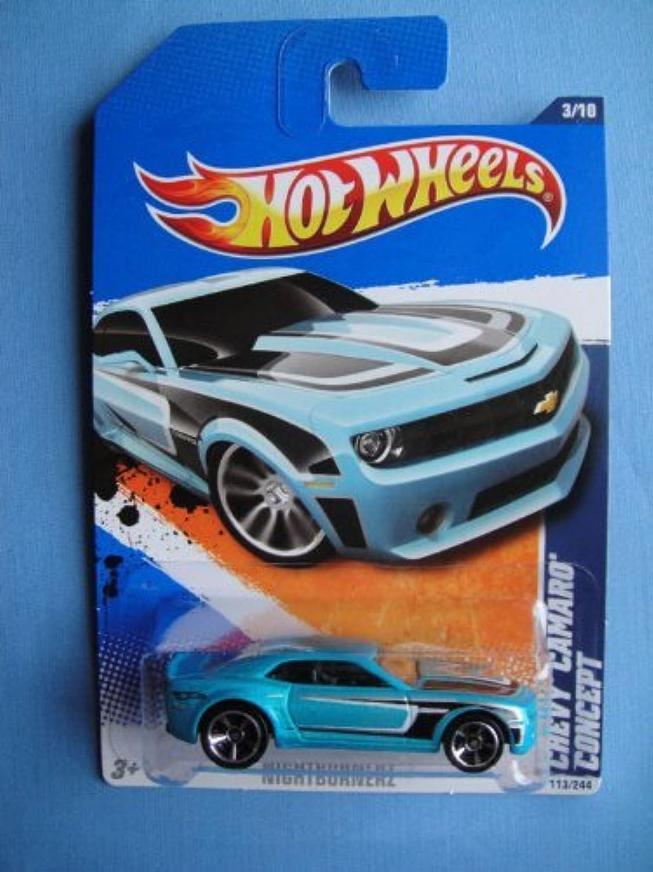 2011 Hot Wheels 113 244 - Nightburnerz 3 10 - Chevy Camaro Concept by Mattel B01C6NEDG0 Sonderkauf    Flagship-Store