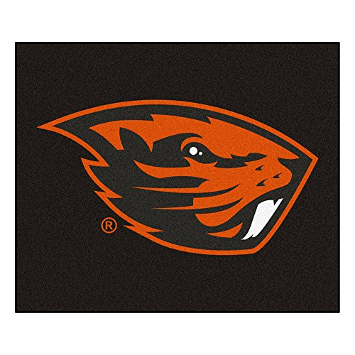 FANMATS Team Support Accessories Oregon State Collage Sports Team Logo Outdoor Mat Tailgater Rug 60