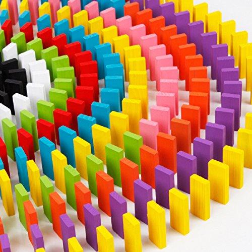 koiiko, Set di mattonelle in Legno colorato, Set educativo di mattonelle, Gioco per Natale, Regalo di Natale per Bambini