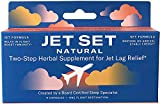 JET SET NATURAL, Jet Lag Relief & Prevention Pills | Sleep Specialist Created | Travel Immune Support | Jet to Relax & Boost Immunity | Set to Energize & Restore | Herbs, Vitamins & Minerals