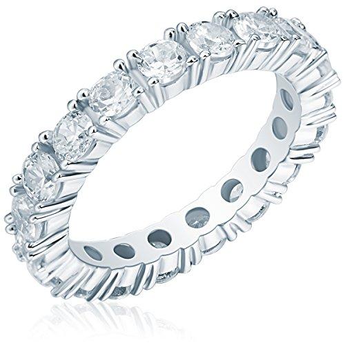 Rafaela Donata Damen Ring aus 925/- Sterling Silber mit Zirkonia