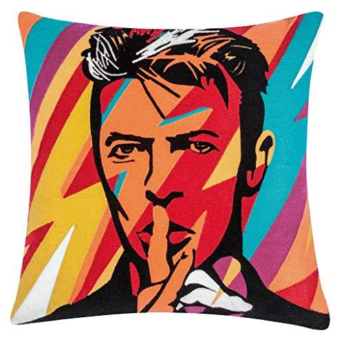 pad - Kissenhülle - Kissenbezug - Fame - David Bowie - Multi/bunt - 45 x 45 cm