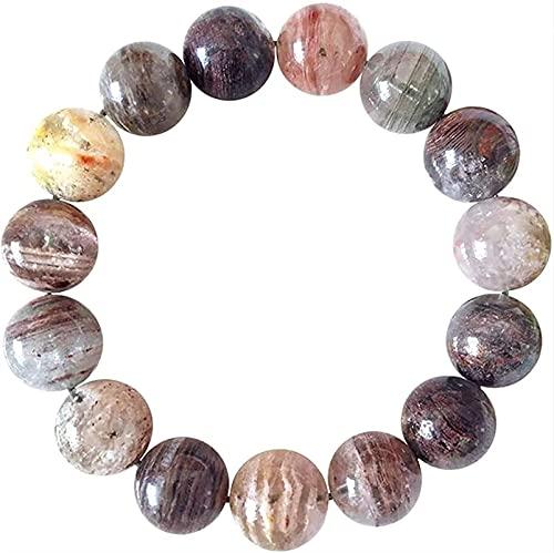 Pulseras con cuentas de piedras preciosas premium Treasure Bowl Phantom Crystal Pulsera Feng Shui Pulsera de riqueza 7 chakra curativo balanceo piedras preciosas brazalete amuleto fuerte talismán por