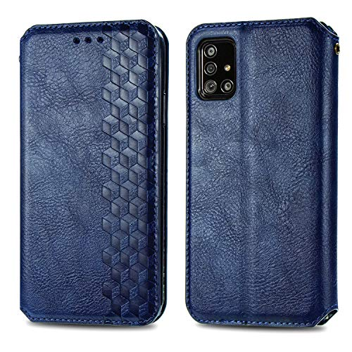 Trugox Funda Cartera para Samsung A71 de Piel con Tapa Tarjetero Soporte Plegable Antigolpes Cover...