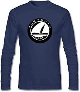 Men's Plymouth Logo Long Sleeve T-shirt