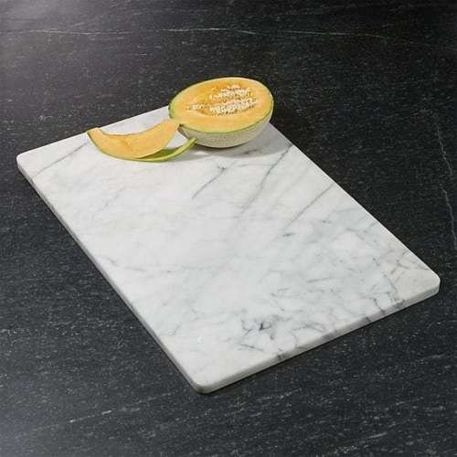 Kitchen Cutting Board White Marble Dough Pastry Slab Rolling Beautiful Decor 24'x16'' by Success.Store. Corp