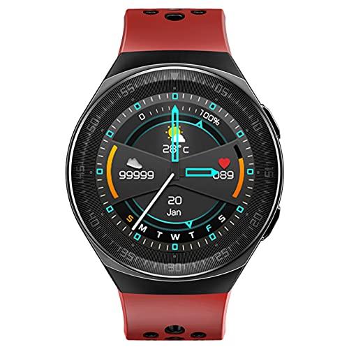 Reloj inteligente, 1.28 pulgadas AMOLED pantalla con pantalla de cristal 3D, 2 semanas de vida de la batería, GPS, modos de deporte, pantalla de cristal 3D, Bluetooth llamadas smartwatch,