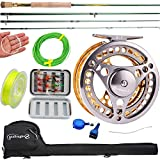 Sougayilang Fly Fishing Rod Reel Combos with Lightweight Portable Fly Rod and Fly Reel,Fly Fishing...