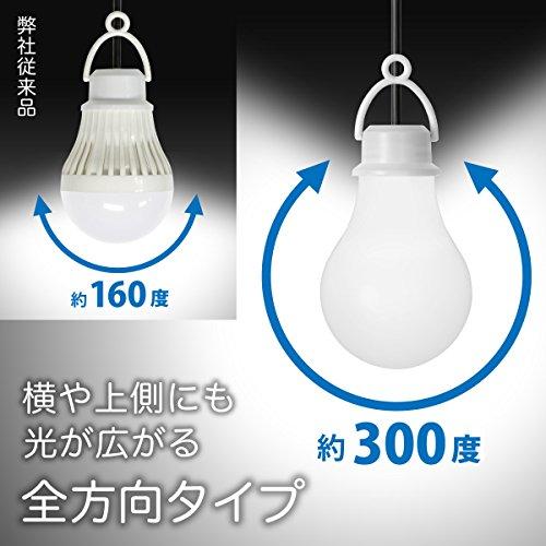 日本トラストテクノロジー『USB電球型全方向タイプLEDライトdenki_U(USBDENUDL)』