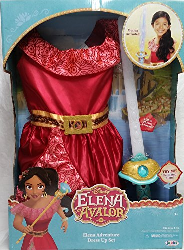 Disney Elena of Avalor Adventure Dress Up Set (Girls size 4-6x) - http://coolthings.us