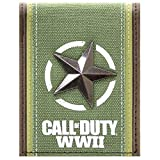 Call of Duty Freedom stella d'argento Verde Portafoglio