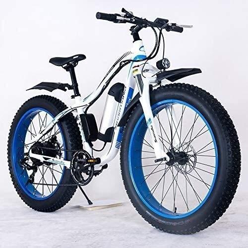 GYL Bicicleta eléctrica Bicicleta de montaña Moto de nieve Fat Tire City...
