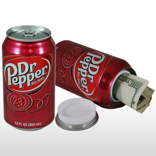 Dr. Pepper Can Stash Safe